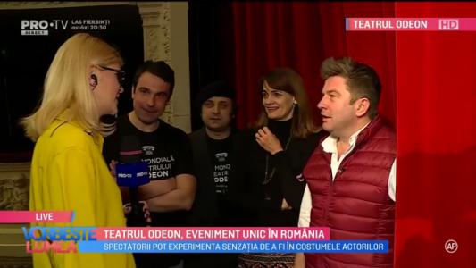 Teatrul Odeon, eveniment unic in Romania